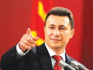 Macedonia's PM Nikola Gruevski