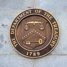 The Seal of the United States Department of the Treasury