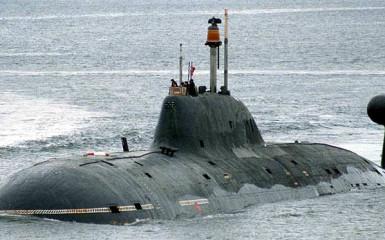 An Akula class submarine