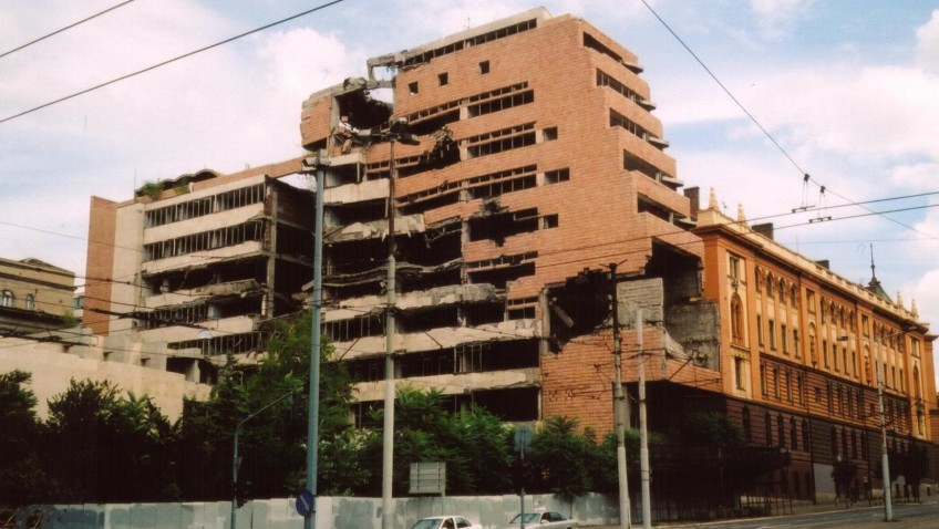 Former Yugoslav Military Headquarters in Belgrade
