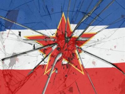 raspad jugoslavije zastava