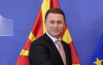 Former Macedonian Prime Minister Nikola Gruevski