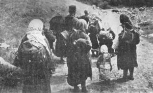 Bulgarian refugees from the Balkan Wars (1912-1913)
