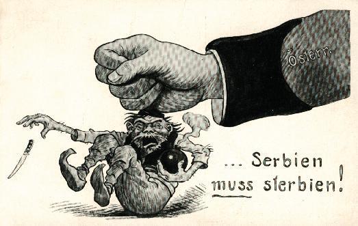 """""""Serbia must die"""""""