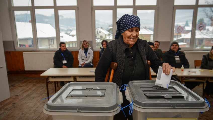 Kosovo held snap parliamentary elections last Sunday