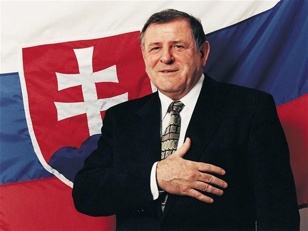 Slovakia's ex-Prime Minister Vladimir Meciar