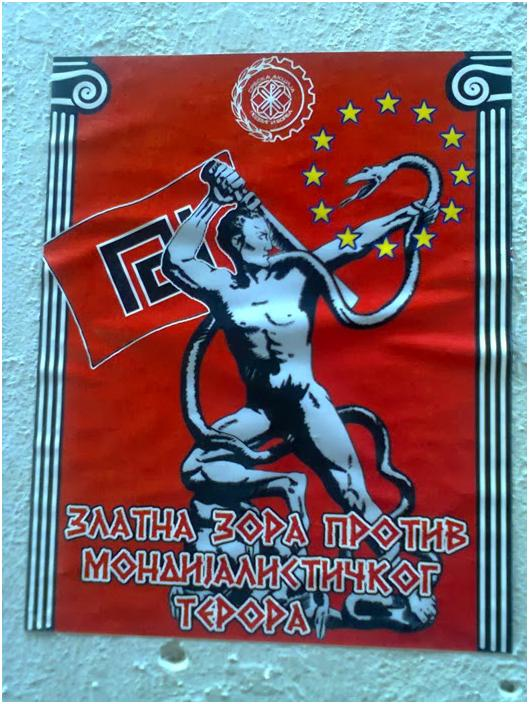 """Golden Dawn against the globalist terror"""