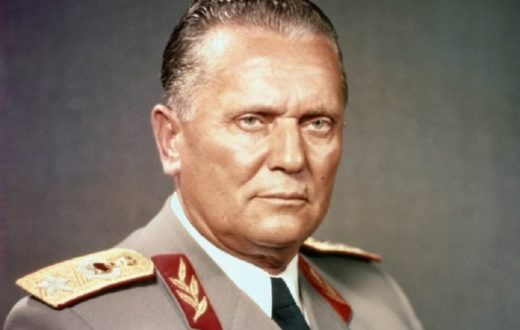 Yugoslavia's lifelong president Josip Broz Tito